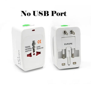 Open image in slideshow, Plug and Power Adapter US / EU / UK / AU