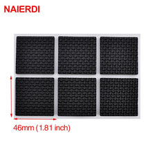 Load image into Gallery viewer, NAIERDI 1-24PCS Self Adhesive Furniture Leg Feet Rug Felt Pads Anti Slip Mat  Bumper Damper For Chair Table Protector Hardware