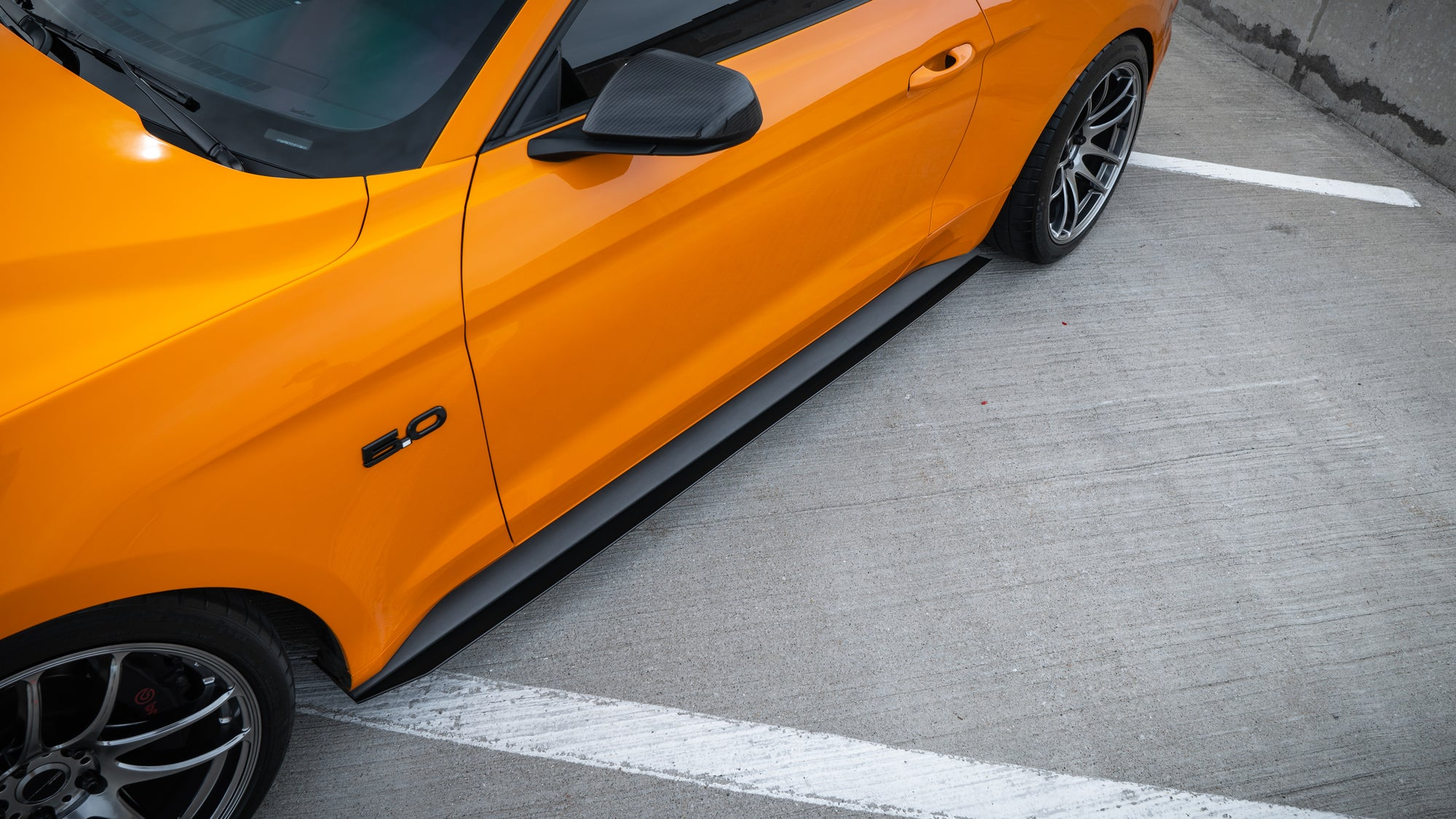 2015-2020 Ford Mustang V.2 Side Skirts