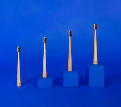 activated charcoal bamboo toothbrush