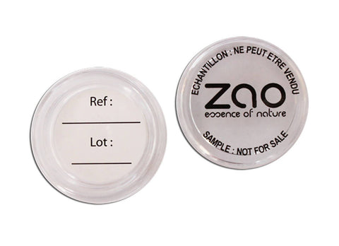 ZAO COMPACT FOUNDATION SAMPLE
