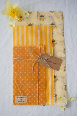 Eco Friendly Beeswax Wrap