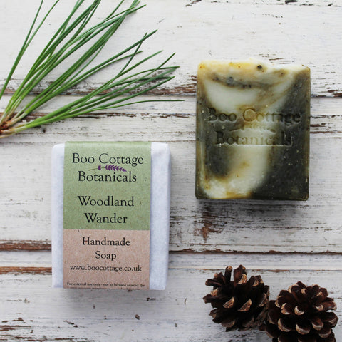 WOODLAND WANDER NATURAL SOAP
