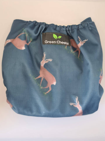Oh Deery Me - Hemp cloth pocket nappy