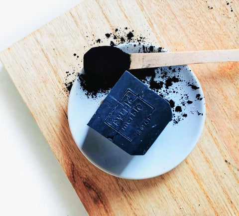 Activated Charcoal + Sea Salt Natural Soap