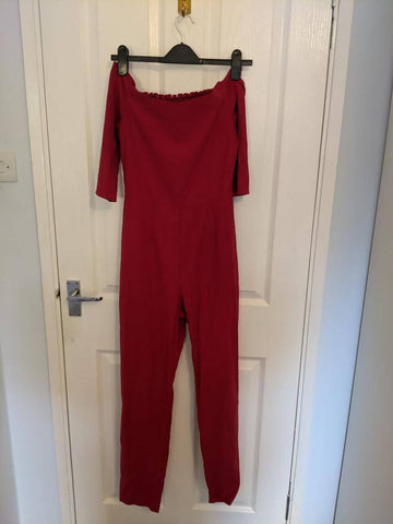 Reformation Red Jumpsuit S (4/6)