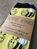 'Save the Bees' Bamboo Socks