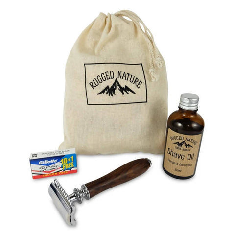 Rugged Nature Oil Shave Kit