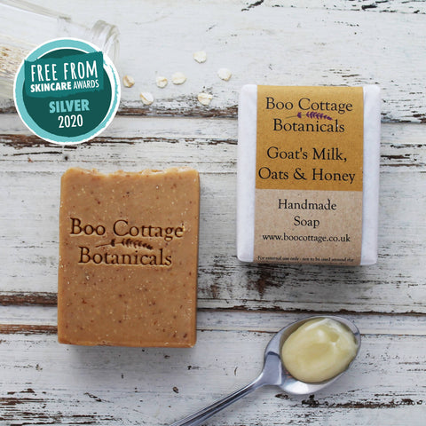 GOAT'S MILK, OATS & HONEY NATURAL SOAP