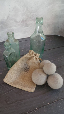 4x Wool Dryer Balls – Lavender Infused