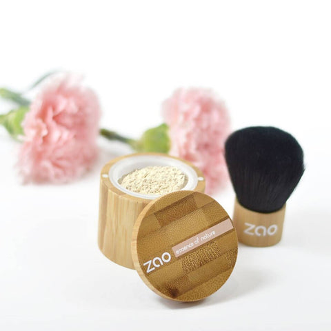 ZAO REFILLABLE MINERAL SILK FOUNDATION POWDER