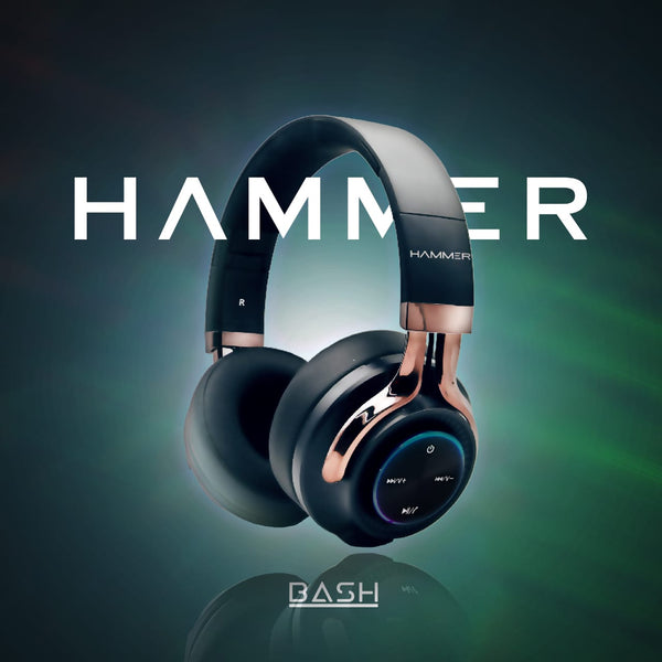 Hammer Bash Wireless Bluetooth Headphones : Bash the Beats