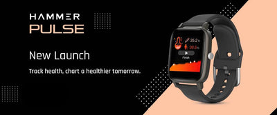 Hammer launched Pulse smartwatch with temperature sensor at Rs 2,799