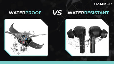 What is Difference Between Waterproof and Water Resistant - Hammer