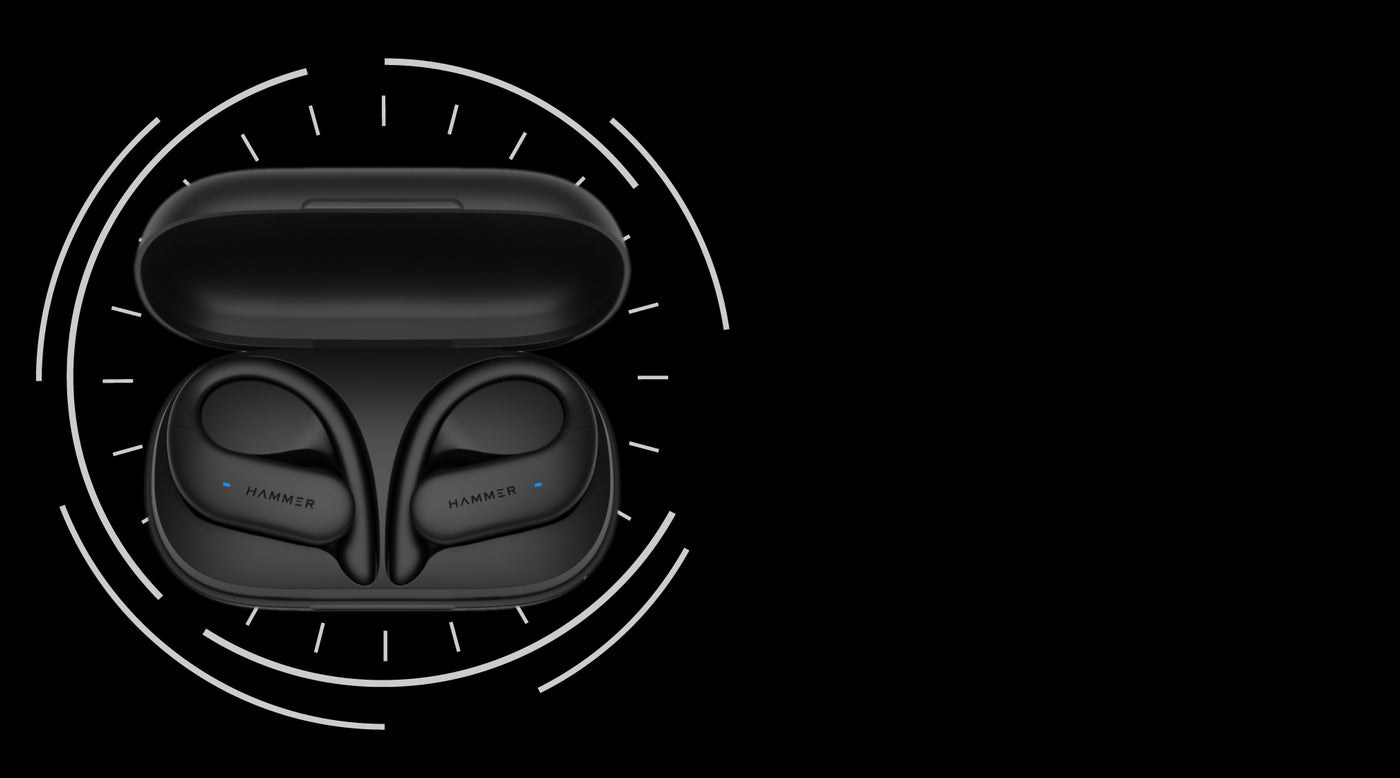 Hammer KO Sports Truly wireless earbuds with Bluetooth 5.0