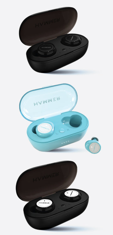 Hammer Airflow True Wireless Earbuds with Bluetooth 5.0