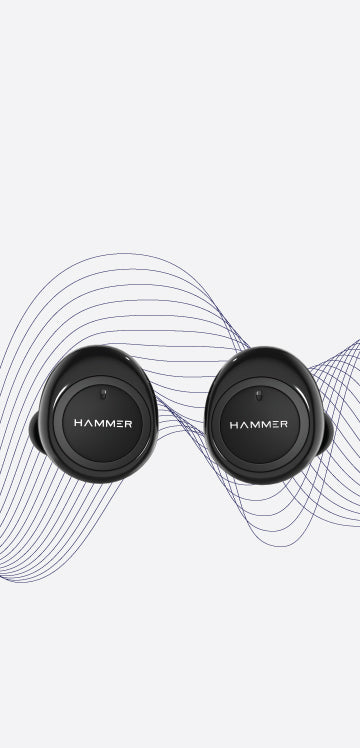 Hammer Airflow True Wireless Earbuds Snug Fit
