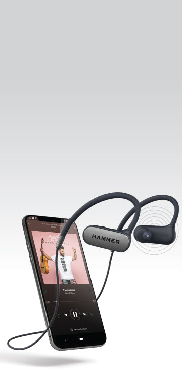 Hammer Earphones with Bluetooth 5.0 for Running