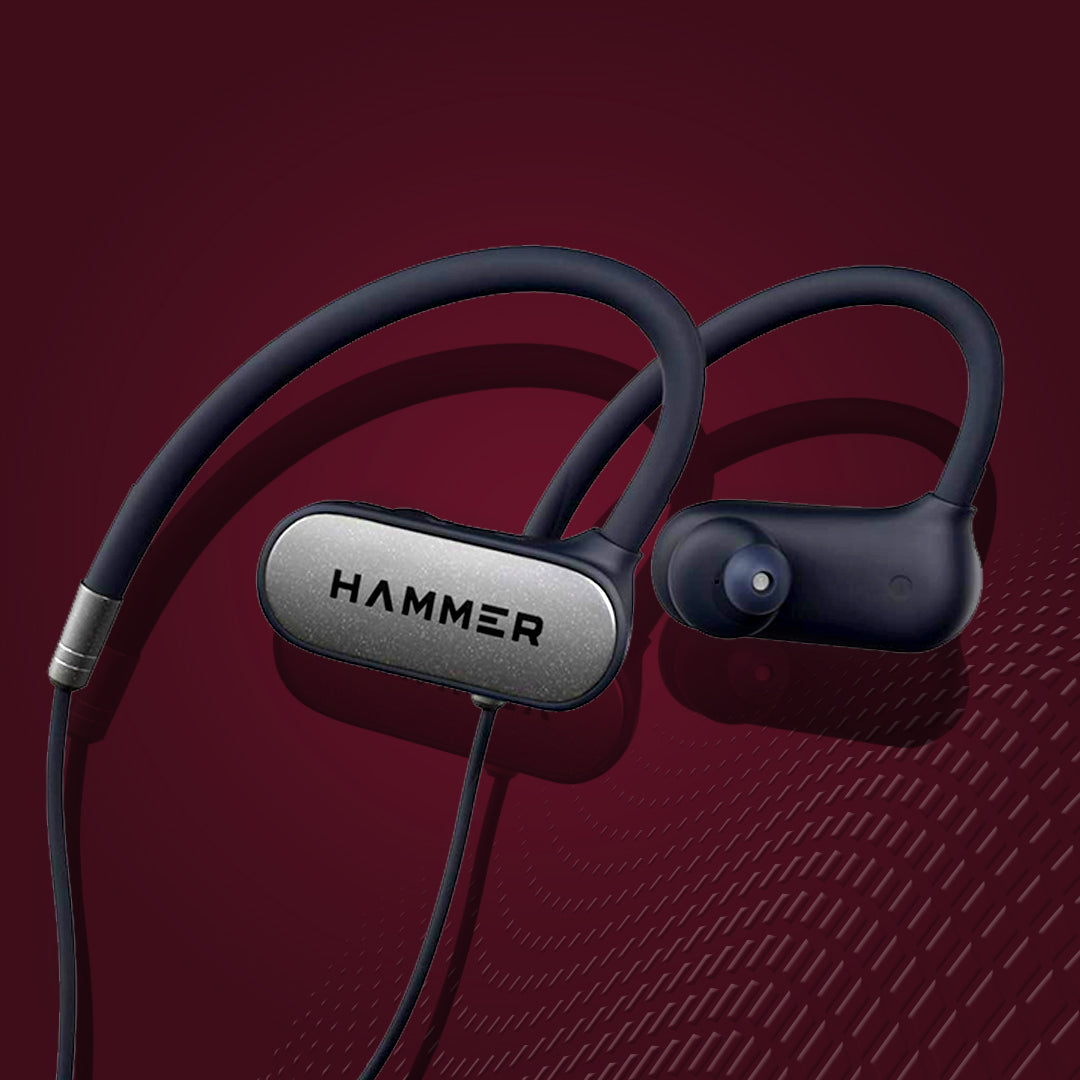 Hammer Grip Wireless Earphones