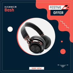Hammer Bash Wireless Headphones