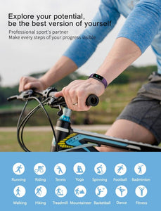 Track sports activity with hammer smart band