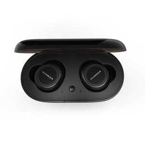 Hammer Black Airflow Bluetooth Truly Wireless Earbuds