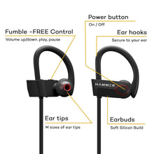 Load image into Gallery viewer, Sports Wireless Earphones with Ear Hooks