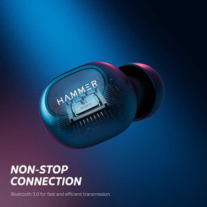 Hammer Solo 2.0 Truly Wireless Bluetooth Earbuds With Lid