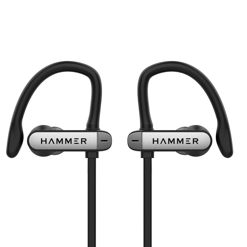 Hammer Edge Unisex Black Wireless Earphones