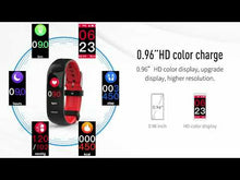 Load and play video in Gallery viewer, smart fitness watch buy at hammer online store