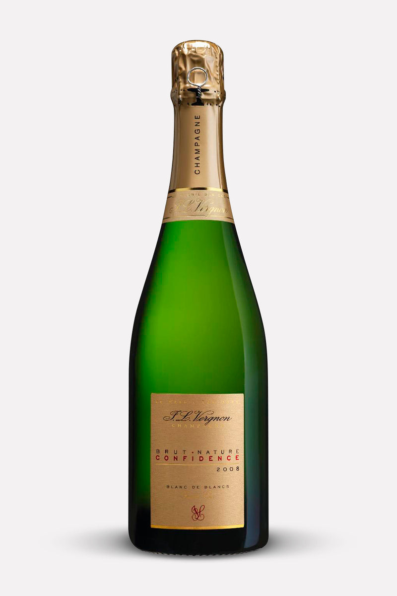 J L Vergnon Confidence Brut Nature 2009 – Case of 6 Bottles