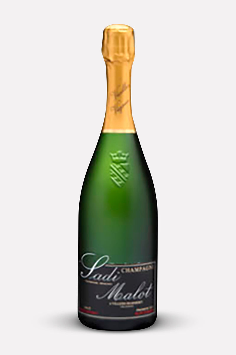 Sadi Malot Brut Authentique – Case of 12 Half Bottles