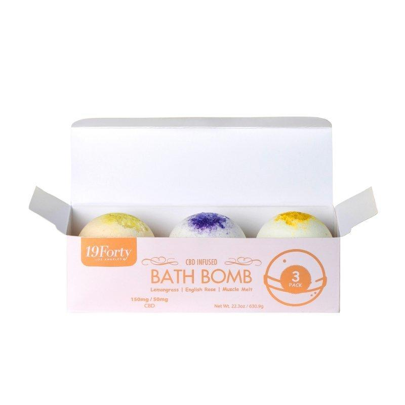 19Forty - Bath Bombs - 50mg - Box of 3