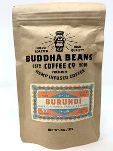Buddha Beans - Hemp Infused Coffee - Burundi
