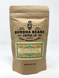 Buddha Beans - Hemp Infused Coffee - Colombia