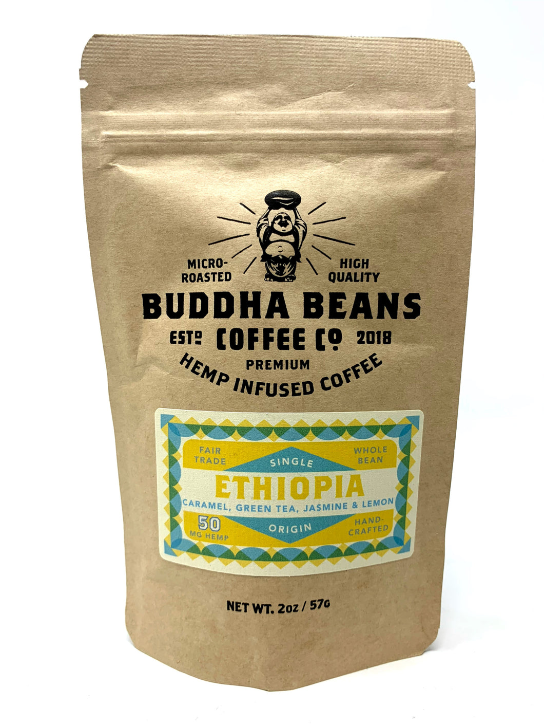 Buddha Beans - Hemp Infused Coffee - Ethiopia