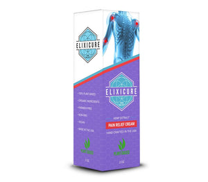 Elixicure - Cream Pump - 200mg - Lavender