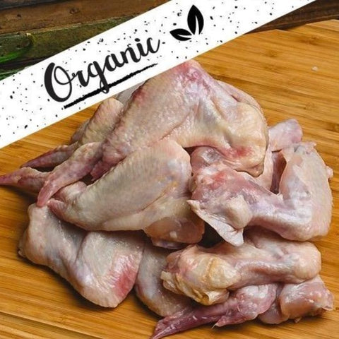 Organic Chicken Wings - 500g
