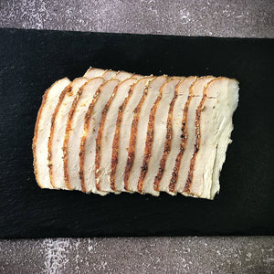 smoked turkey breast slices