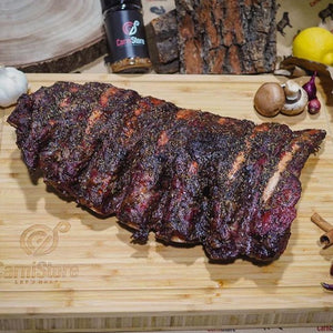 Smoked Back Ribs