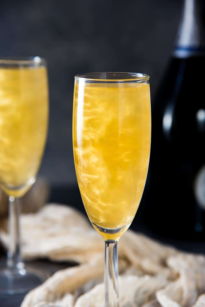 Sip of the Month: Shimmery Champagne Cocktail