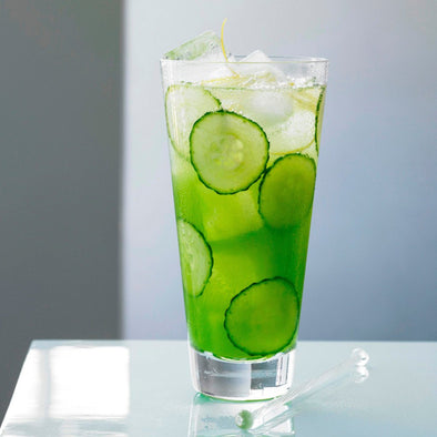 Sip Of The Month: Cucumber Fizz Cocktail