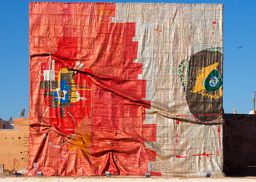 """El Anatsui's """"Kindred Viewpoints"""""""