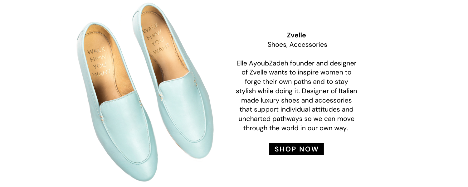 Zvelle luxury shoes and accessories