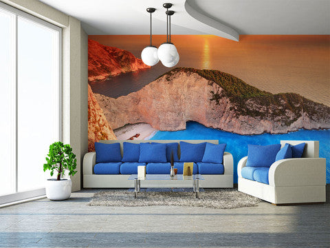 Greek Island Wall Murals