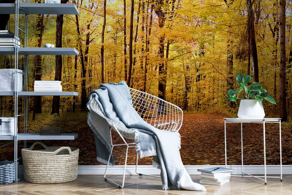 AUTUMN PANORAMA WALL MURAL WALL MURAL