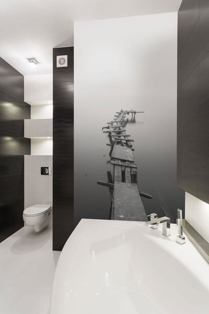 11 Wall Mural Ideas To Upgrade Your Bathroom Decor Eazywallz