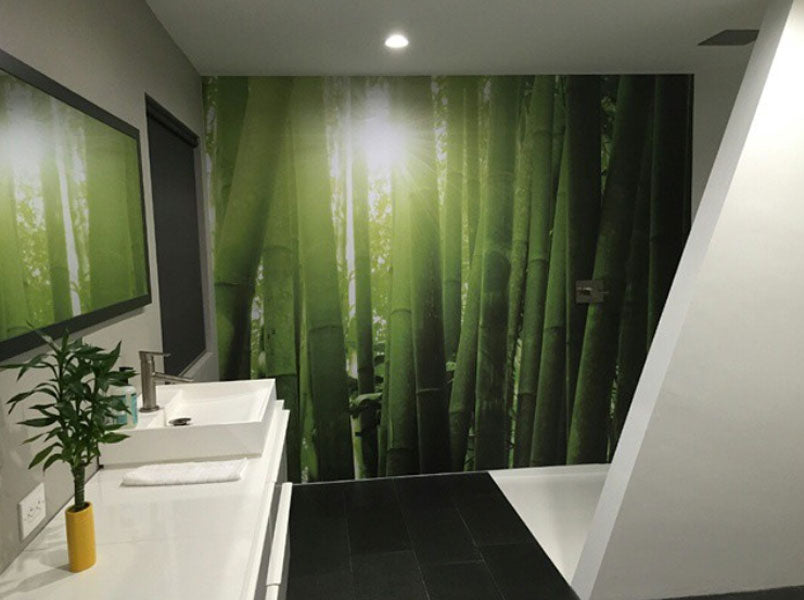 Bathroom Wall Murals Eazywallz