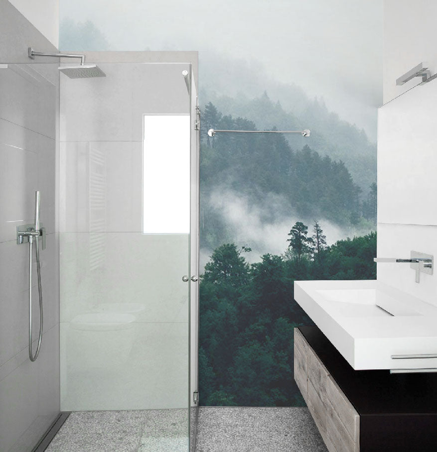 Bathroom Wall Murals | Eazywallz