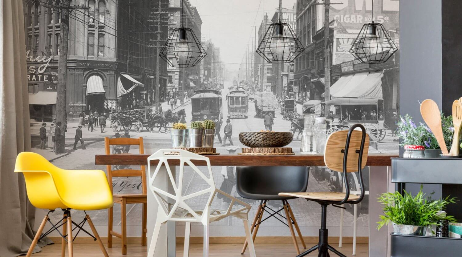 Dining room wall murals eazywallz dining room wall murals amipublicfo Image collections